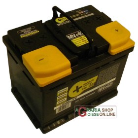 LONGLIFE CAR BATTERY 62Ah SIGGILLATA WITHOUT MAINTENANCE