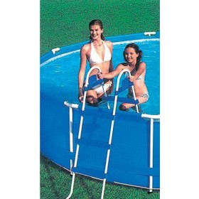 DOUBLE LADDER CLIMB CM. 122 FOR INTEX POOL