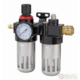 Einhell Filtro riduttore con lubrificatore R 3/8