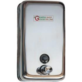 DISPENSER, LIQUID SOAP DISPENSER STAINLESS steel ml. 750