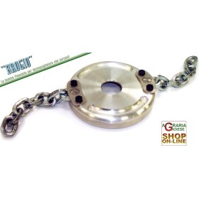 BROGIO GROUP SHARP FLEXIBLE DISK WITH CHAIN