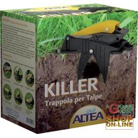 ALTEA KILLER TRAPPOLA MECCANICA PER TALPE E ARVICOLE