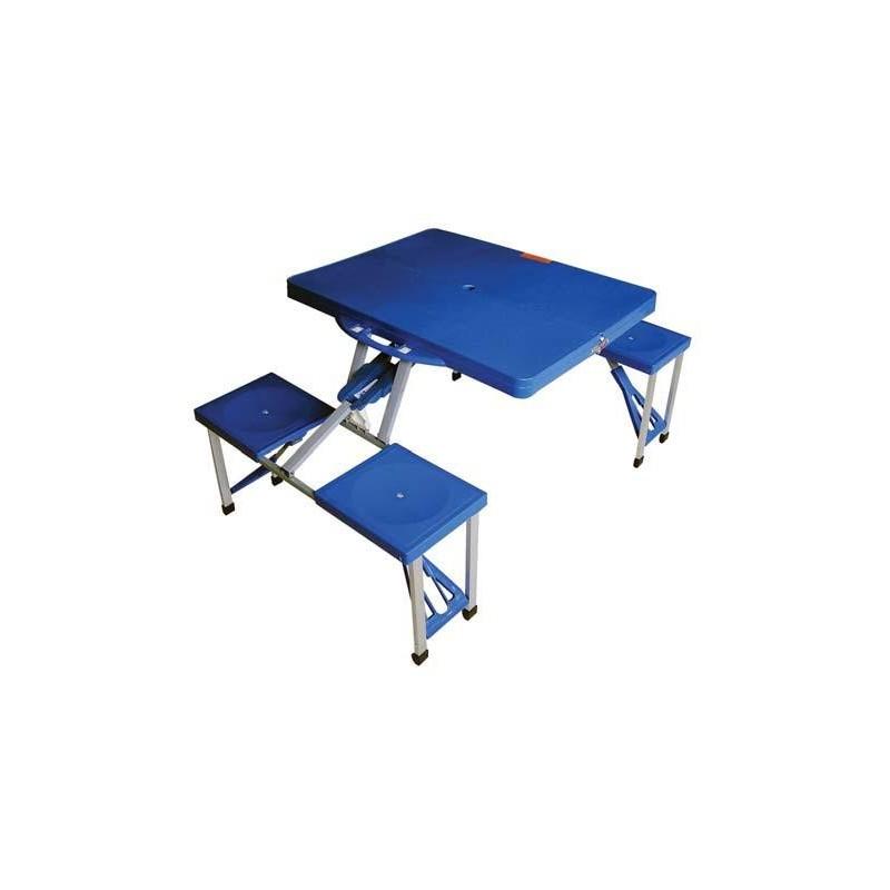 Tavolo Da Pic Nic Richiudibile.Set Tavolino E Sedie Da Pic Nic Campeggio Richiudibile 136x66 5xh86