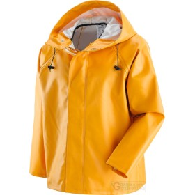JACKET FISHERMAN IN THE PVC WITH THE SUPPORT OF COTTON AND
