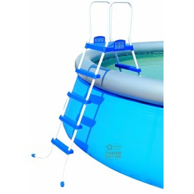 BESTWAY DOUBLE LADDER CLIMB FOR POOLS HEIGHT CM. 122 MOD. 58097