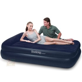BESTWAY BED MATTRESS CAR INFLATABLE DOUBLE FLOCKED CM