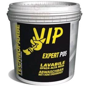VIP EXPERT P05 PITTURA MURALE LAVABILE PER INTERNI LT. 14 BB