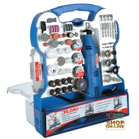 DRILLMAX MINITRAPANO GRINDER SET, 158 PCS. WATTS 130