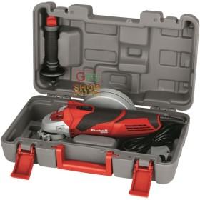 Einhell Smerigliatrice angolare TE-AG 125/750 KIT valigetta e