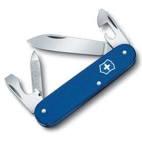 VICTORINOX CADET DISPALY BLUE ALUMINUM HANDLE