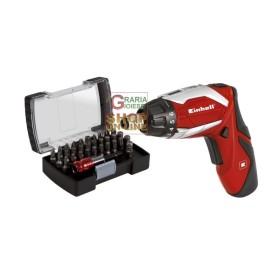 Einhell Cacciavite a batteria TE-SD 3 6 Li Kit -