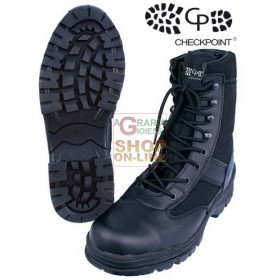 BUCHNER BOOTS TREKKING HIGH BLACK WITHOUT TOE CAP SIZE FROM 39