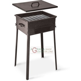 CHARCOAL FOR THE BARBECUE FORNACETTA MODEL TAORMINA CM.