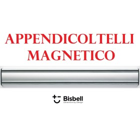 APPENDICOLTELLI MAGNETICO ALLUMINIO PROFESSIONALE BISBELL mm. 500