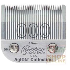 HEAD REPLACEMENT FOR HAIR CLIPPER OSTER SIZE 000 SIZE 0.5 MM