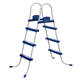 BESTWAY DOUBLE LADDER CLIMB UP TO THE POOL HEIGHT CM. 107 MOD.