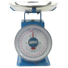 KITCHEN SCALE WITH FLAT ALUMINIUM OLD STYLE SUPRELLE KG. 30