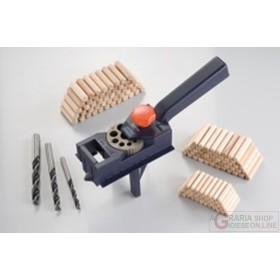 Einhell Set completo per spinatura con 150 spine in legno e 3