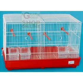 BIRD CAGE HATCHING 2 PLACES CM. 55X32X36H