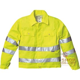 JACKET V-40% POLYESTER 60% COTTON GR 240 SQUARE METERS APPROX