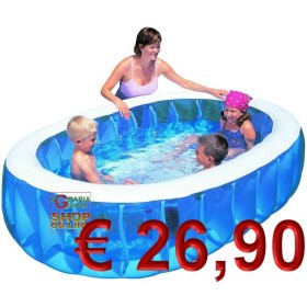 BESTWAY INFLATABLE SWIMMING POOL OVAL FOR CHILDREN