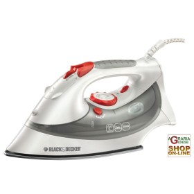 BLACK DECKER STEAM IRON STAINLESS XT2030