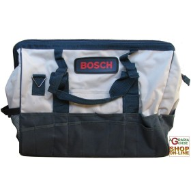 BAG BOSCH CANVAS SHOULDER BAG FABRIC WITH ZIPPER