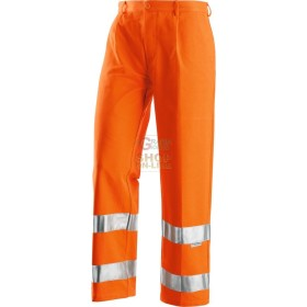 PANTS ORANGE REFLEX HIGH VISIBILITY COTTON AND POLIESTRE SIZE