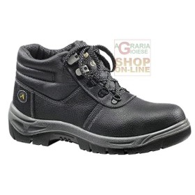 SHOES HIGH PROTECTIVE SILVERSTON S3 SRC full grain LEATHER