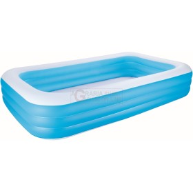 BESTWAY 54009 INFLATABLE POOL, RECTANGULAR CM. 305X183X56h.