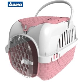 Pet carrier for dogs cats and bunnies Bama VOYAGER PINK