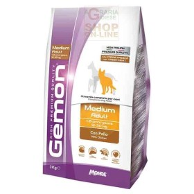 GEMON FEED FOR DOGS MEDIUM ADULT WITH CHICKEN KG. 15