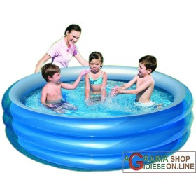 BESTWAY INFLATABLE SWIMMING POOL, INFLATABLE ROUND CM.201x53h.
