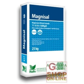 MAGNITOP MAGNISAL MAGNESIUM NITRATE KG. 25