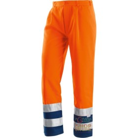 PANT V-40% POLYESTER 60% COTTON WITH BANDS OF RETRO-REFLECTIVE