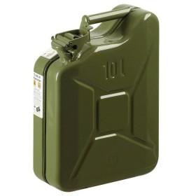 TANK, METAL FUEL APPROVED GREEN LT. 10