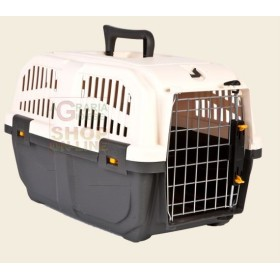 PET CARRIER FOR SMALL DOGS AND CATS SKUDO 2 WITH GRATE FOR IRON