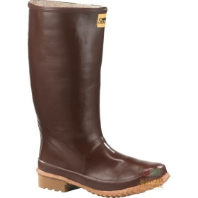 KNEE-LENGTH RUBBER OUTSOLE CALENDERED COLOR BROWN TG 35 47