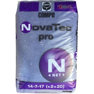 COMPO NOVATEC PRO CONCIME COMPLESSO N.P.K. 14.7.17 CON MICROELEMENTI KG. 25