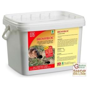 KOLLANT BROMYBLOC RAT POISON GRAIN FOR AGRICULTURAL USE KG. 4
