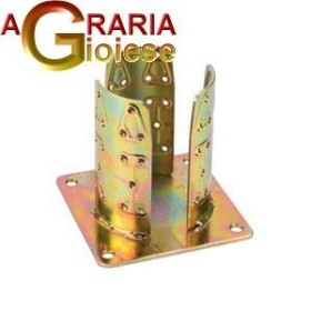 SUPPORT FOR THE PILLARS ROUND 4 HOLES TROP.922 MM 80