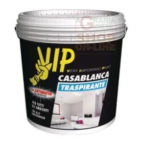 VIP CASABLANCA PITTURA TRASPIRANTE ANTIMUFFA LT. 4 BIANCA
