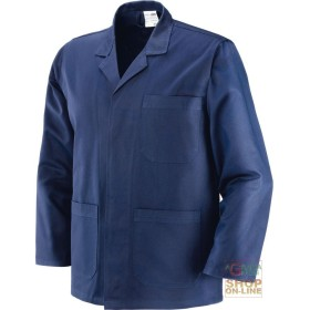 JACKET, MOLESKIN 100% COTTON GR 340 350 BLUE TG 46 62