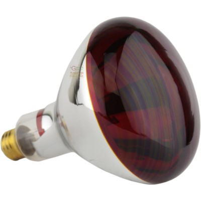 Infrared lamp red E27 Watt. 250 R127