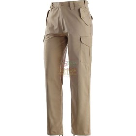 TROUSERS MULTIPOCKETS MADE WITH FABRIC OF 65% POLYESTER / 35%