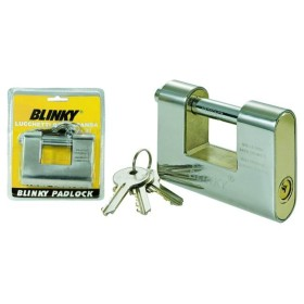 BLINKY PADLOCK BURGLAR-PROOF ROLLING SHUTTERS, ARMORED MM. 90