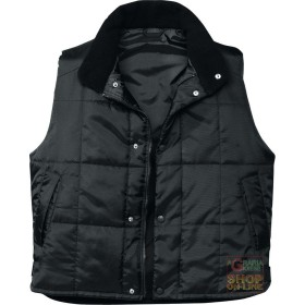 VEST PADDED NYLON COLOR NERO TG S-M-L-XL-XXL
