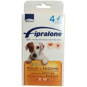 Fipralone antiparassitario pulci e zecche spot-on cane 2 - 10