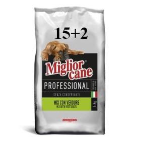 MIGLIORCANE KG. 17 PROFESSIONAL MIX CON VERDURE