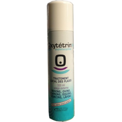 OXYTETRIN SPRAY PER FERITE DI ANIMALI ML. 350